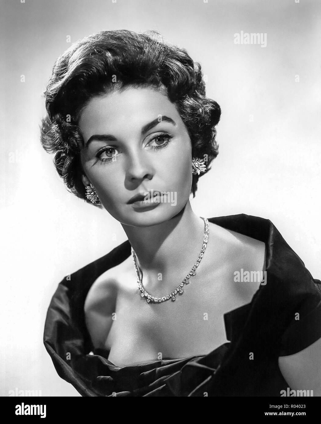 Portrait of Jean Simmons - Stock Image