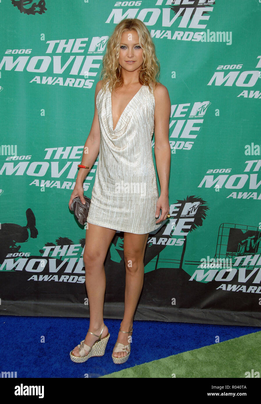 Kate Hudson Arriving At The Mtv Movie Awards At The Sony Lot In Los