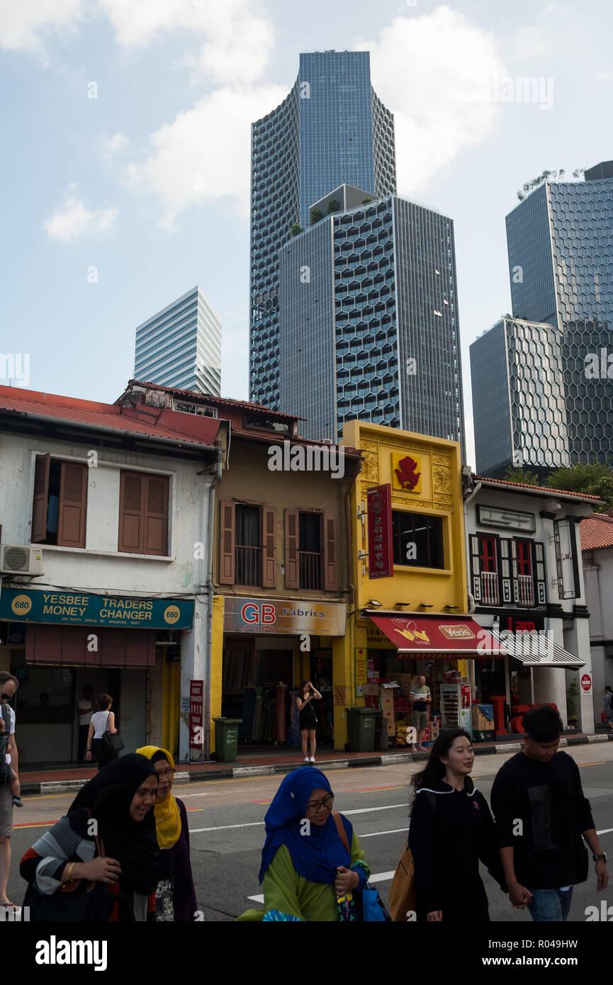 Singapore, Republic of Singapore, DUO Towers - Stock Image