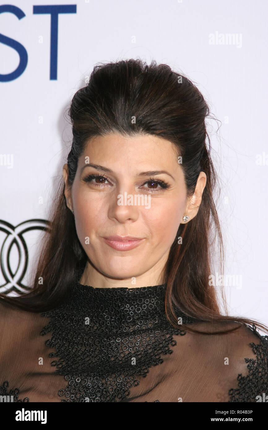 Marisa Tomei  11/06/08  AFI Fest 2008 Presents 'The Wrestler'  @ Grauman's Chinese Theatre, Hollywood Photo by Ima Kuroda/HNW / PictureLux  (November 6, 2008) File Reference # 33689_414HNWPLX - Stock Image