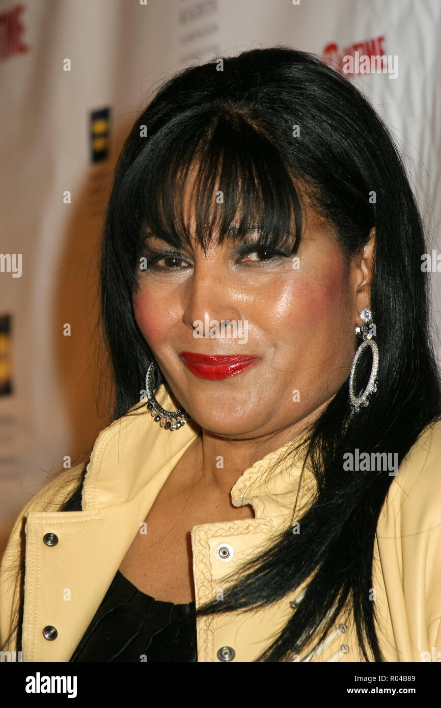 Pam Grier  01/06/08 'The L Word Season 5 Premiere'  @ The Factory, West Hollywood Photo by Izumi Hasegawa/HNW / PictureLux  (January 6, 2008) File Reference # 33689_497HNWPLX - Stock Image