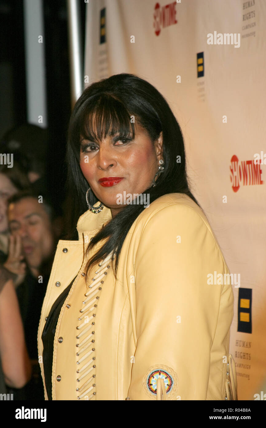 Pam Grier  01/06/08 'The L Word Season 5 Premiere'  @ The Factory, West Hollywood Photo by Izumi Hasegawa/HNW / PictureLux  (January 6, 2008) File Reference # 33689_498HNWPLX - Stock Image