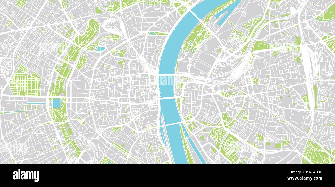 Urban vector city map of Cologne, Germany Stock Vector Art ...