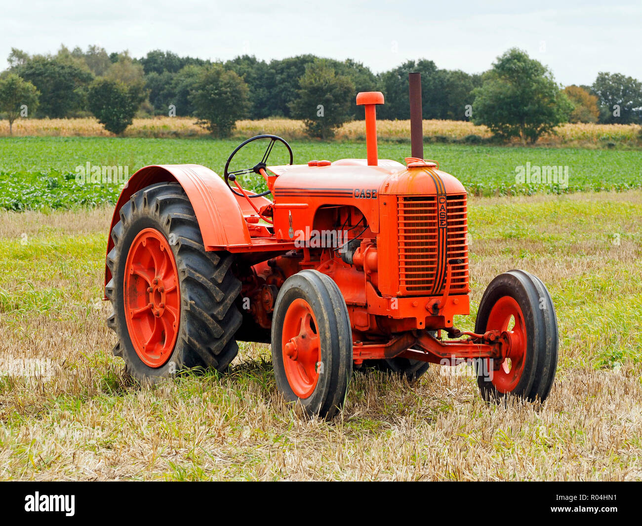 Case Model L - a classic American made tractor from the 1940's Stock Photo
