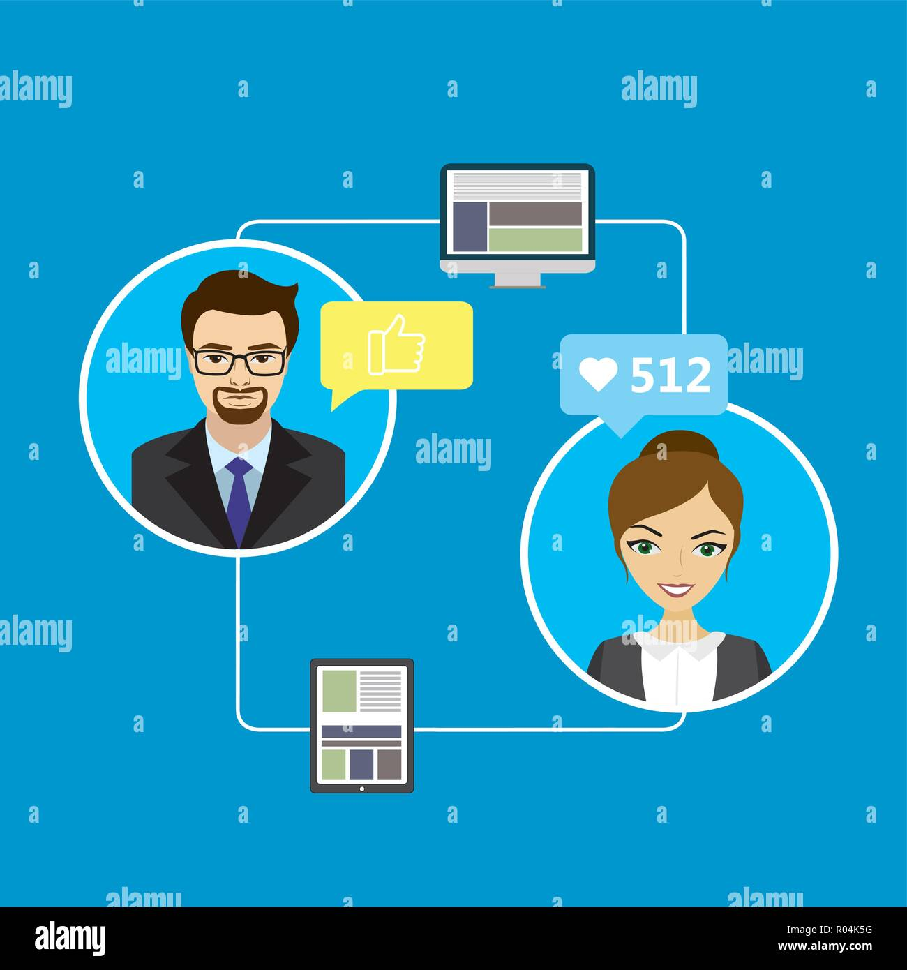 Chat on social networking sites