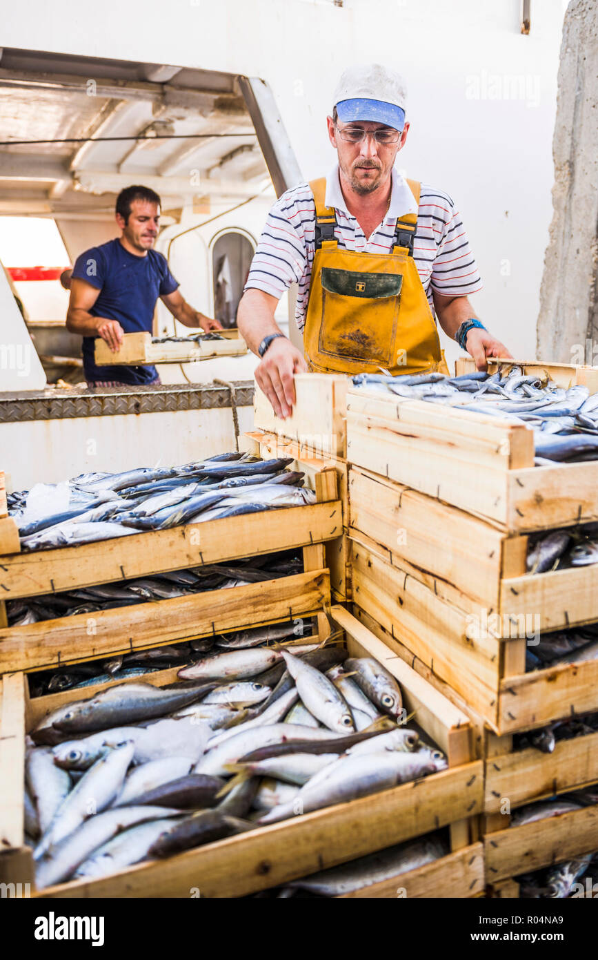 Fishing Industry Andalucia Stock Photos & Fishing Industry Andalucia
