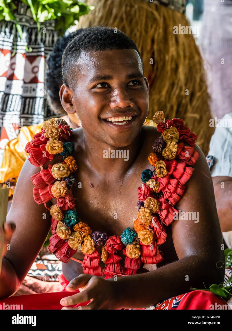 A Kava Ceremony From The People Of Sabeto Village Viti Levu