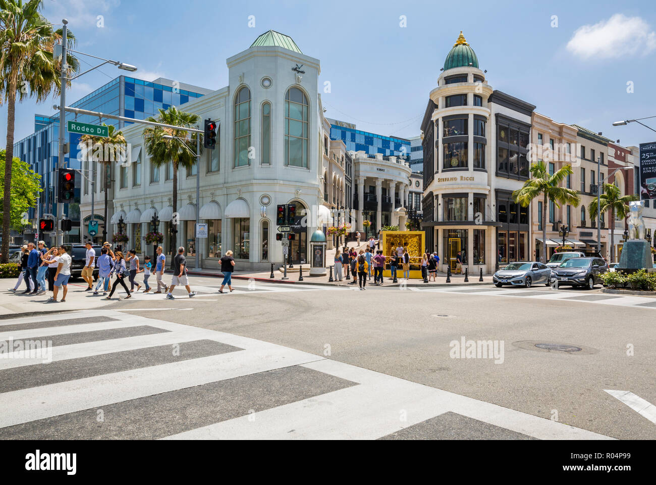 Rodeo Drive Shops Beverly Hills Stock Photos Amp Rodeo Drive