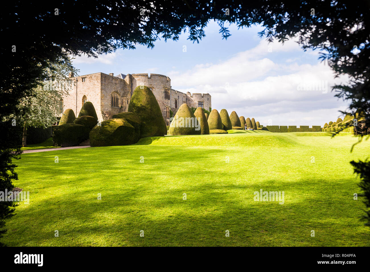 Chirk Castle, near Wrexham, North Wales, United Kingdom