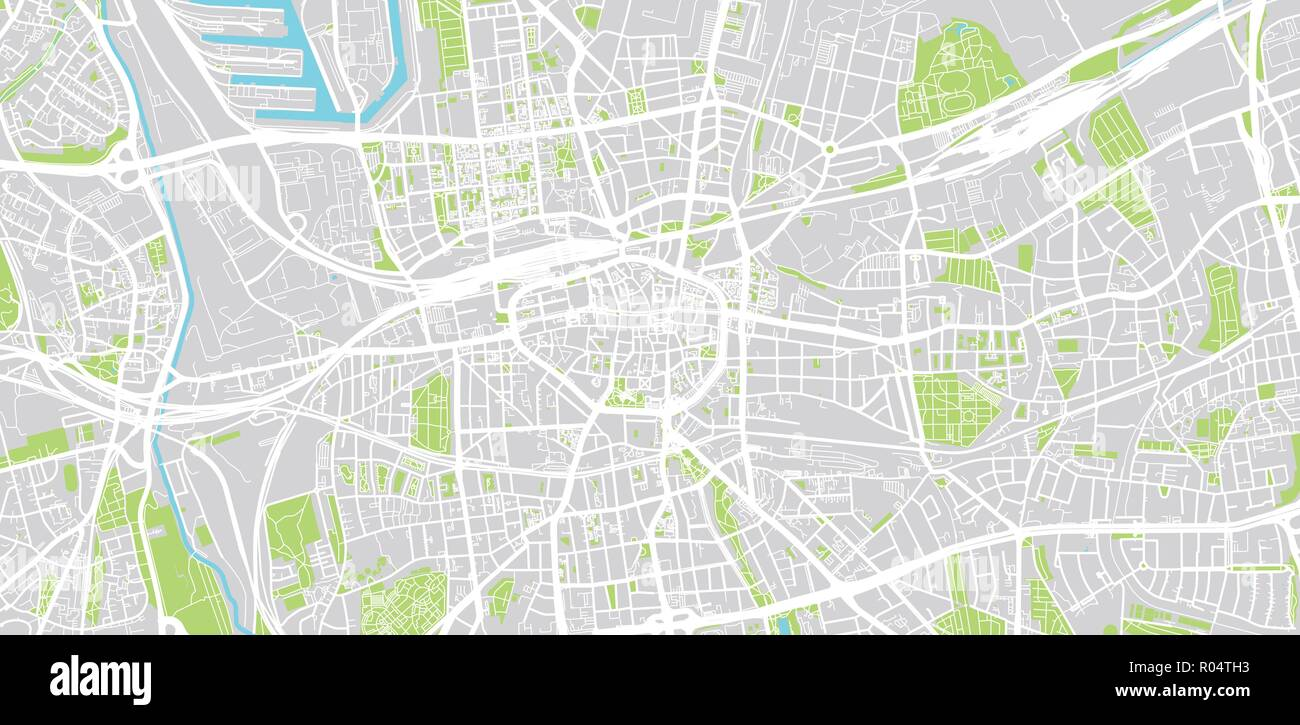 Dortmund On Map Of Germany.Urban Vector City Map Of Dortmund Germany Stock Vector Art