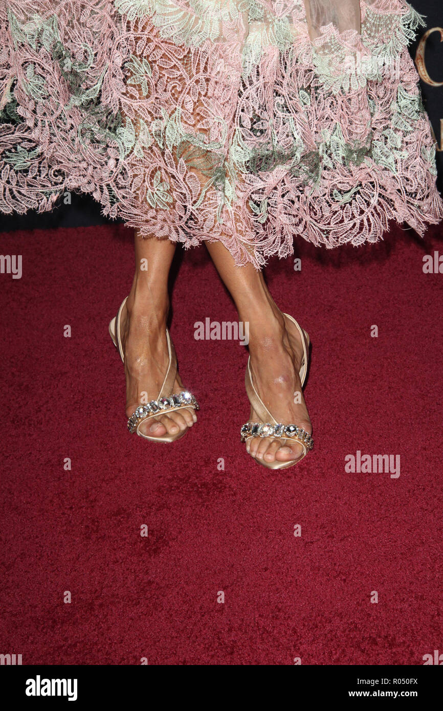 Misty Copeland  10/29/2018 The World Premiere of 'The Nutcracker and The Four Realms' arrival held at The Ray Dolby Ballroom in Los Angeles, CA  Photo: Cronos/Hollywood News - Stock Image