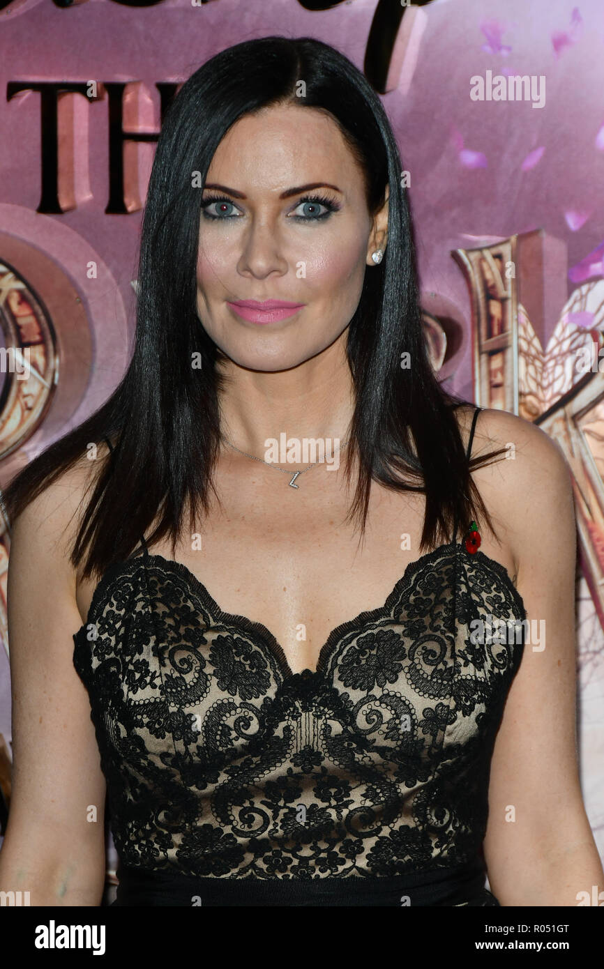 London, UK. 1st Nov 2018. Linzi Stoppard attend The Nutcracker and the Four Realms - UK premiere at Vue Westfield, Westfield Shopping Centre, Ariel Way on 1st Nov 2018, London, UK. Credit: Picture Capital/Alamy Live News Stock Photo