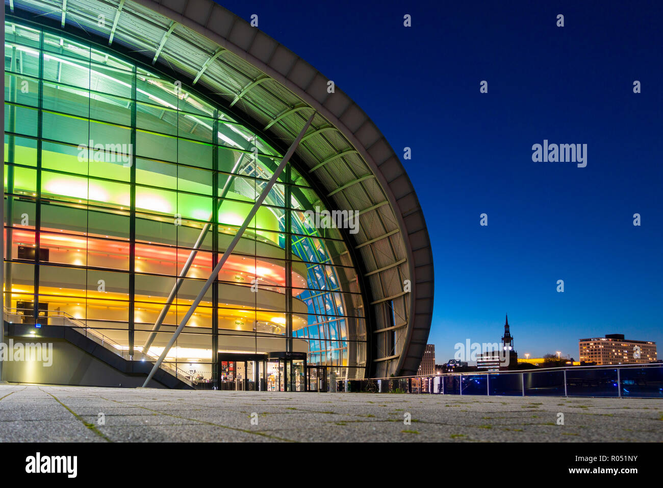 Sage Gateshead, Tyne and Wear, north east England, United Kingdom. - Stock Image