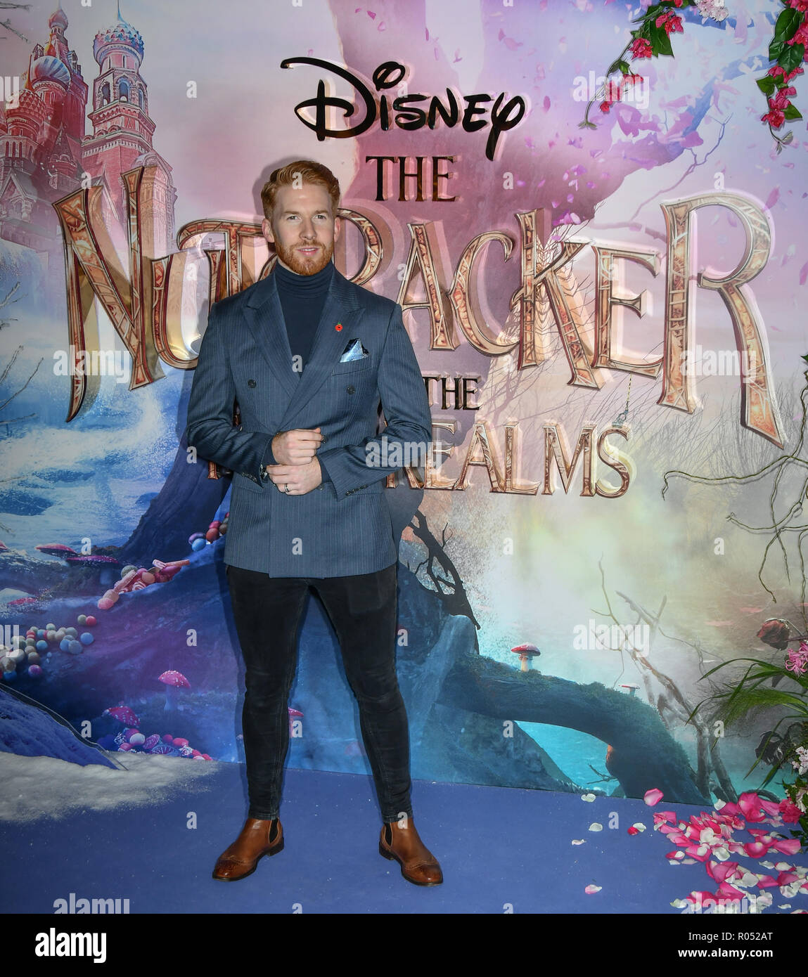 Neil Jones attend The Nutcracker and the Four Realms - UK premiere at Vue Westfield, Westfield Shopping Centre, Ariel Way on 1st Nov 2018, London, UK. - Stock Image
