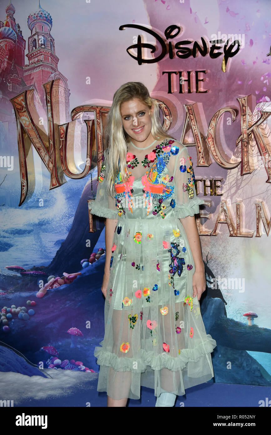 The Nutcracker and the Four Realms - UK premiere at Vue Westfield, Westfield Shopping Centre, Ariel Way on 1st Nov 2018, London, UK. - Stock Image