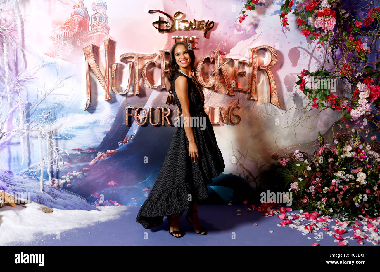 Misty Copeland attending the European Premiere of The Nutcracker and the Four Realms held at the Vue, Westfield London. - Stock Image
