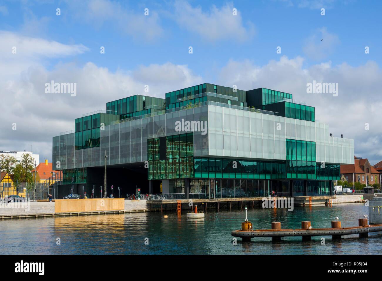 The modern Blox Building Copenhagen Denmark capital city - Stock Image