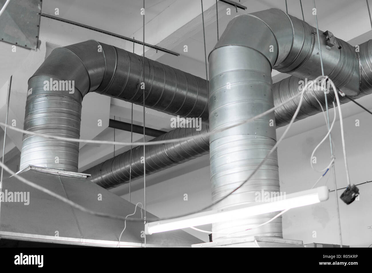 Ventilation Duct Roof Stock Photos Amp Ventilation Duct Roof