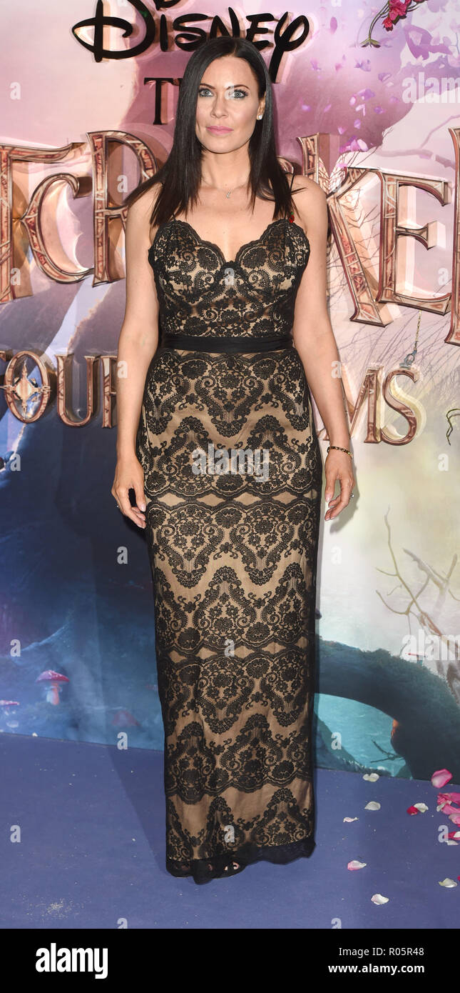 Photo Must Be Credited ©Alpha Press 079965 01/11/2018 Linzi Stoppard The Nutcracker And The Four Realms European Gala Screening At Westfield London - Stock Image