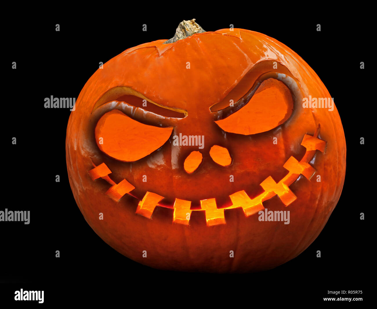 evil face pumpkin template.html