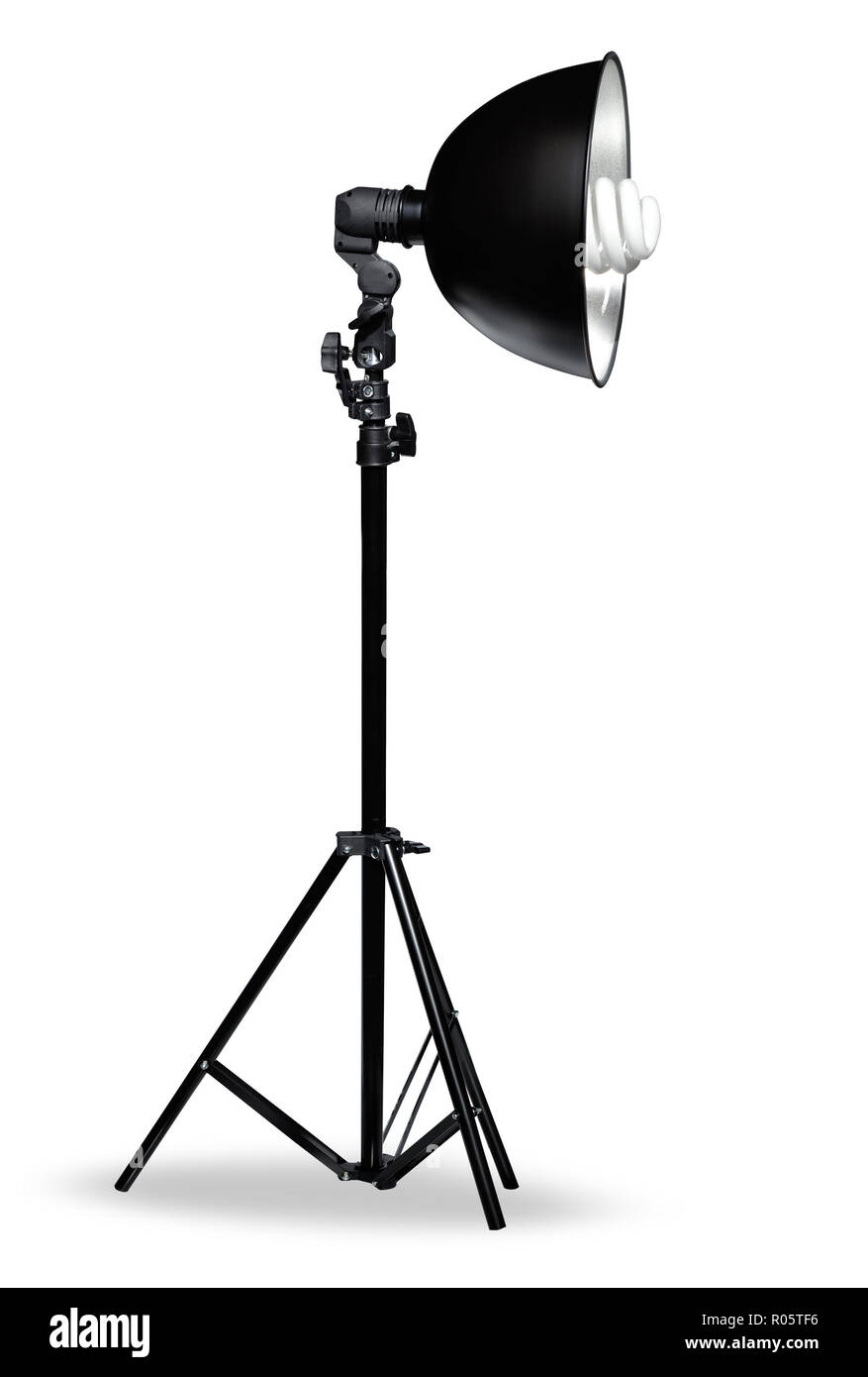 photostudio light canvas lamp two sides illuminate - Stock Image