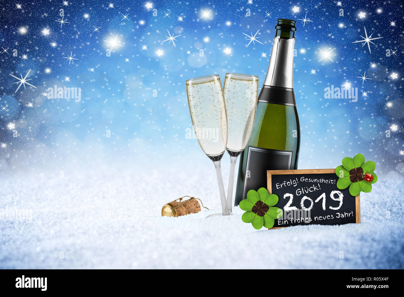 Frohes Neues Jahr Stock Photos & Frohes Neues Jahr Stock Images - Alamy