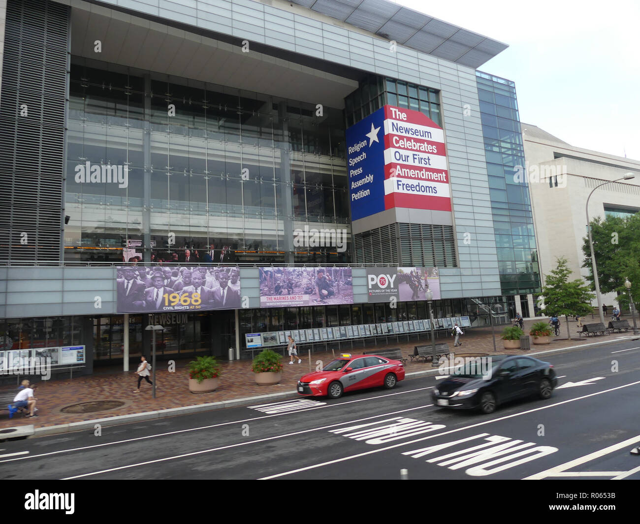 NEWSEUM At 555 Pennsylvania Avenue NW In WashingtonDC Photo Tony Gale