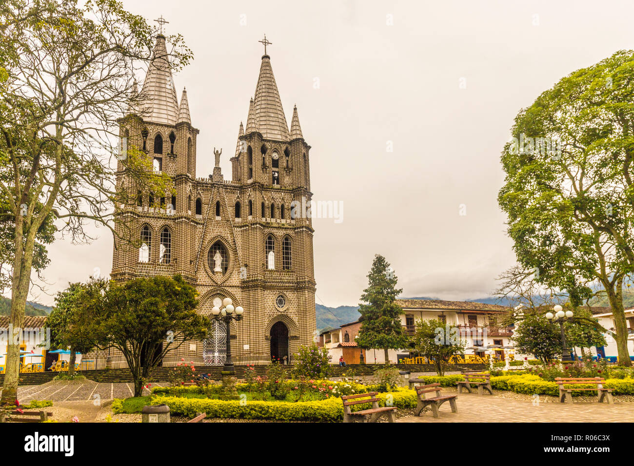 The Minor Basilica Of The Immaculate Conception Jardin Colombia