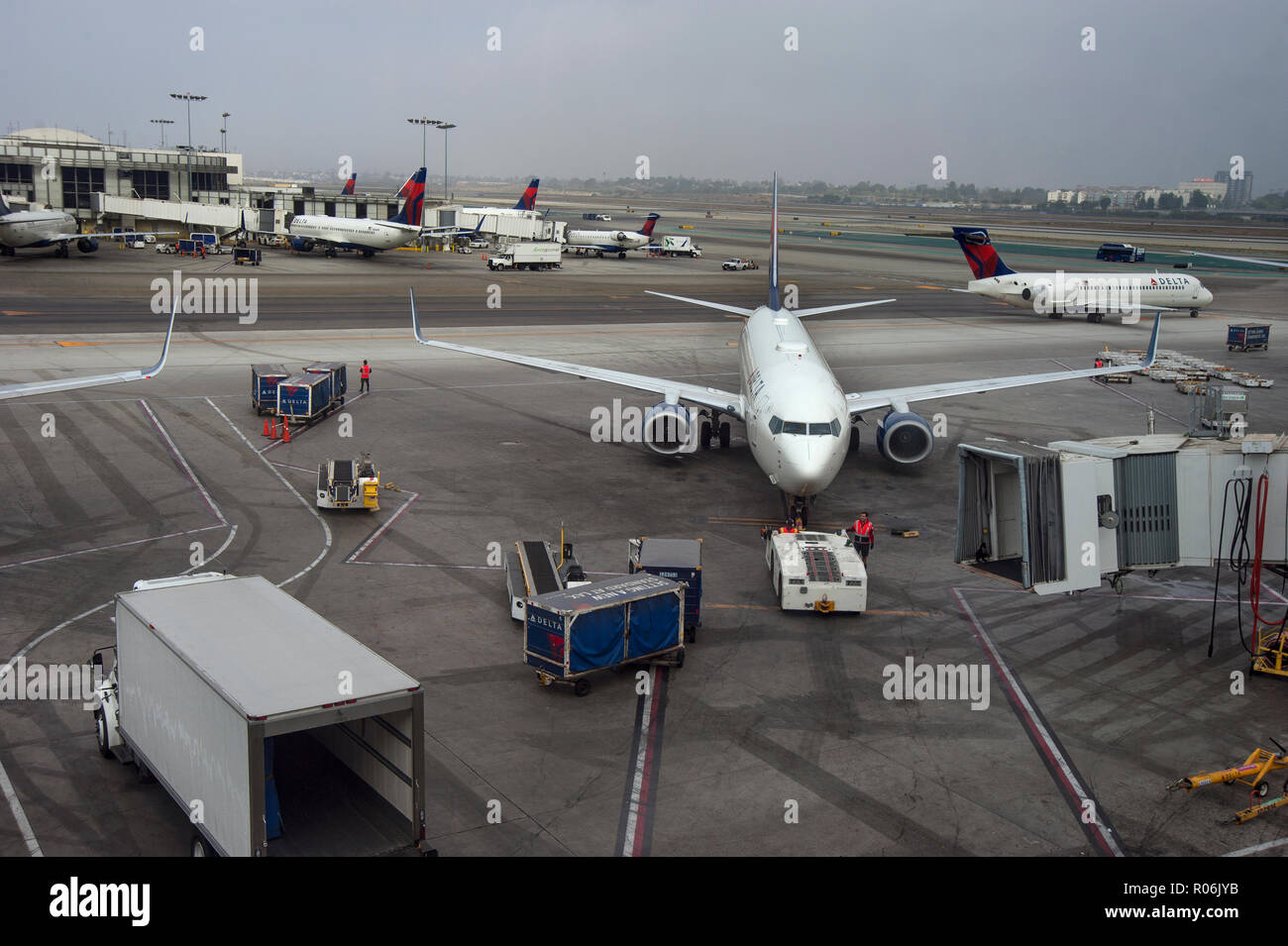 Missoula International Airport in Montana, USA - Stock Image