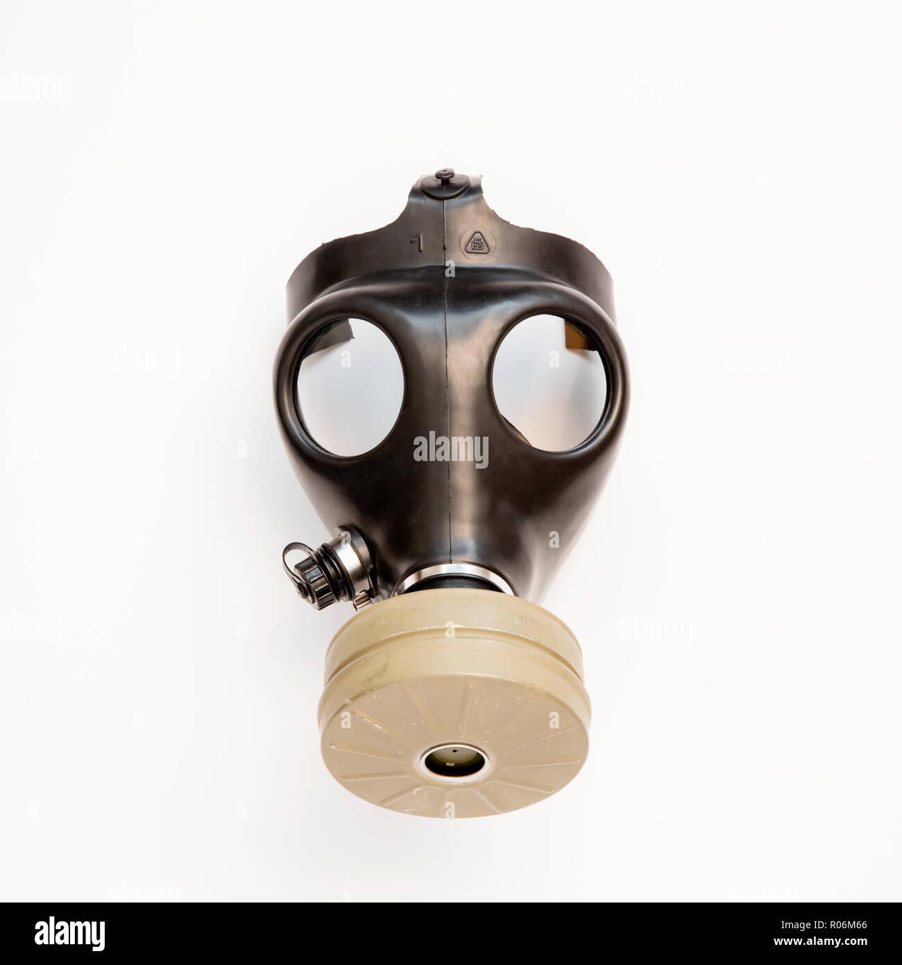 gas mask - Stock Image