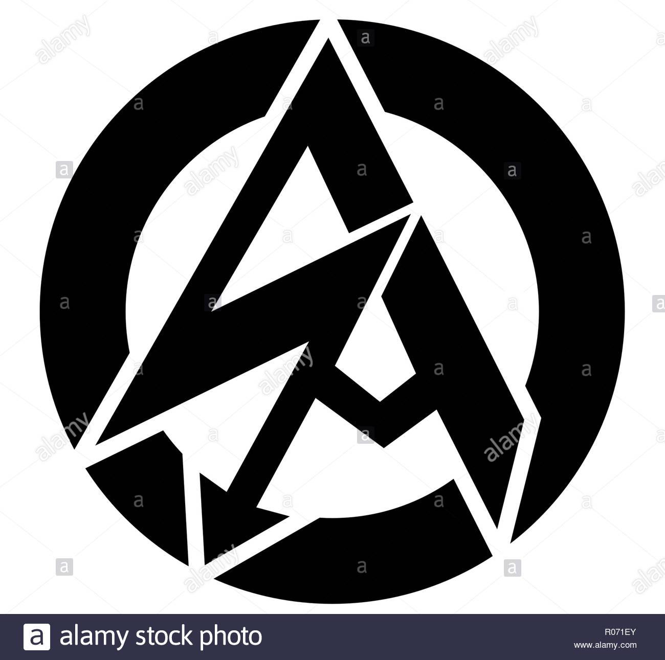 German Sturmabteilung SA logo - Stock Image