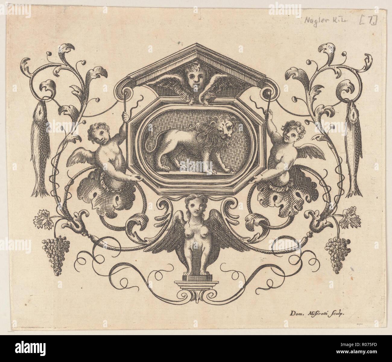 vintage ornamental design Stock Photo