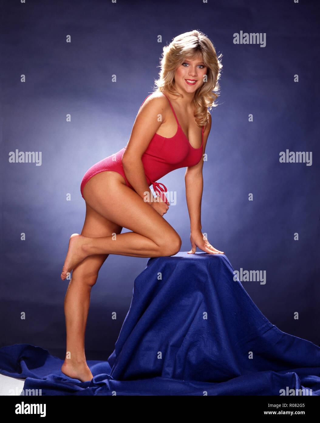 Samantha Fox, Indoors Stock Photo