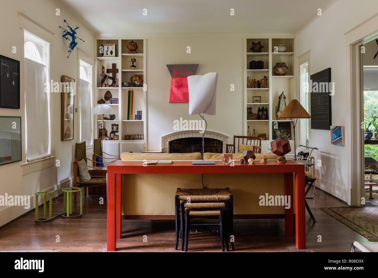Modern living room - Stock Image