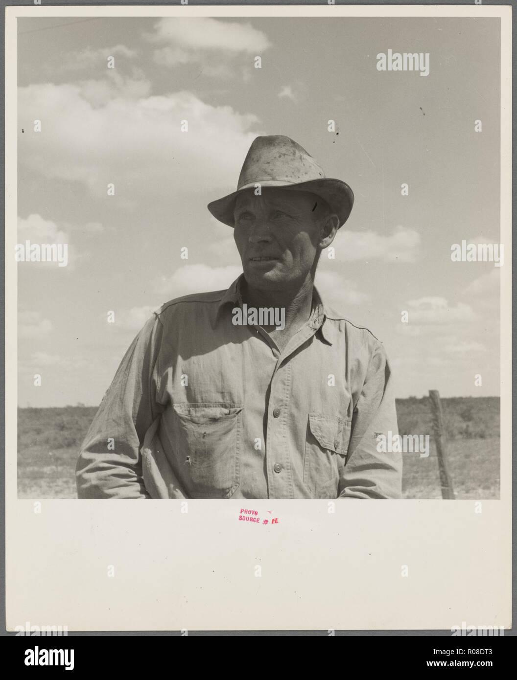 vintage american depression era photograph - Stock Image