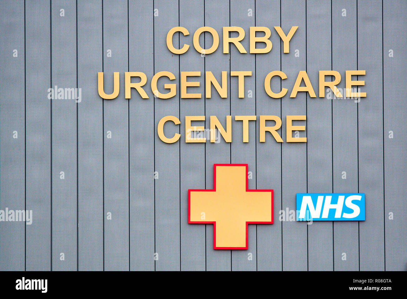 Corby urgent care centre, England. - Stock Image