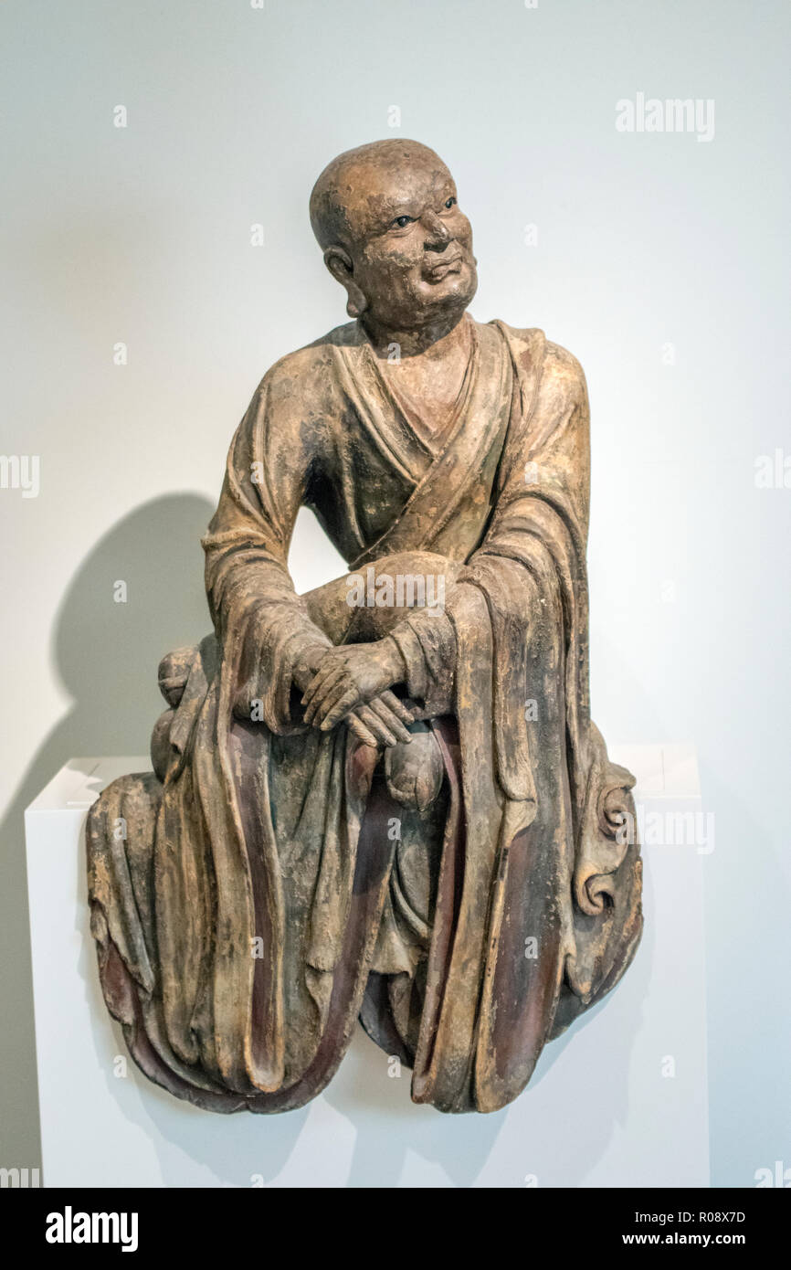 Iohan Statue At The Rijksmuseum Amsterdam The Netherlands 2018 - Stock Image