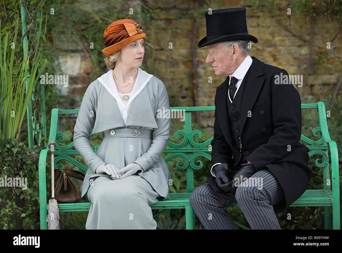 MR. HOLMES 2015 Miramax film with Ian McKellen and Hattie Morahan - Stock Image