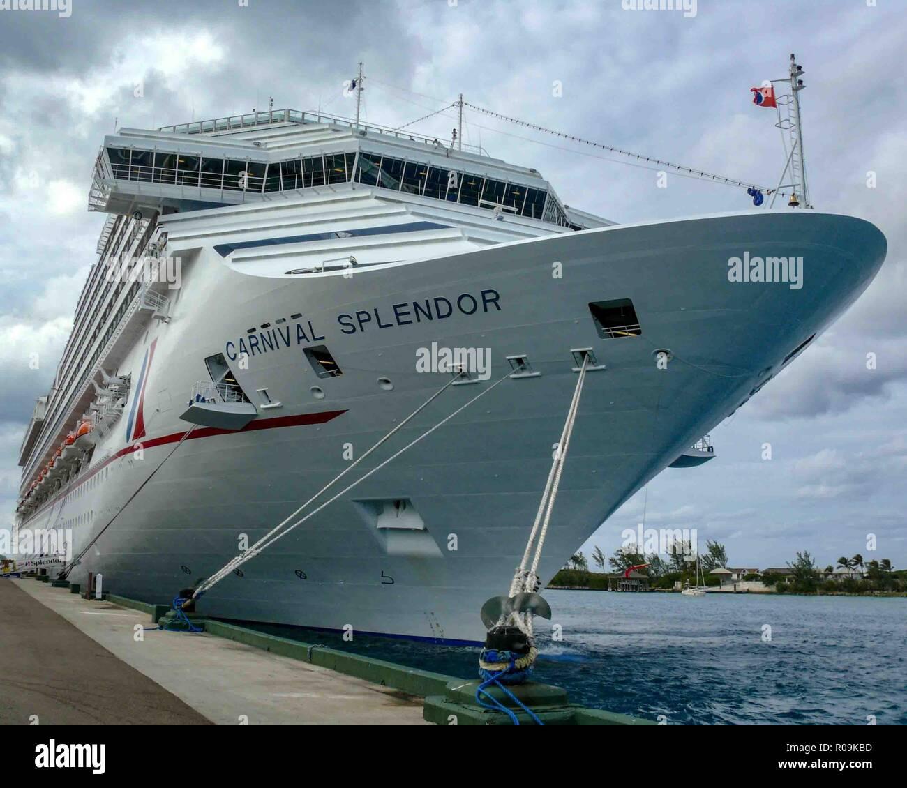 Carnival Splendor Cruise Ship Stock Photos Amp Carnival