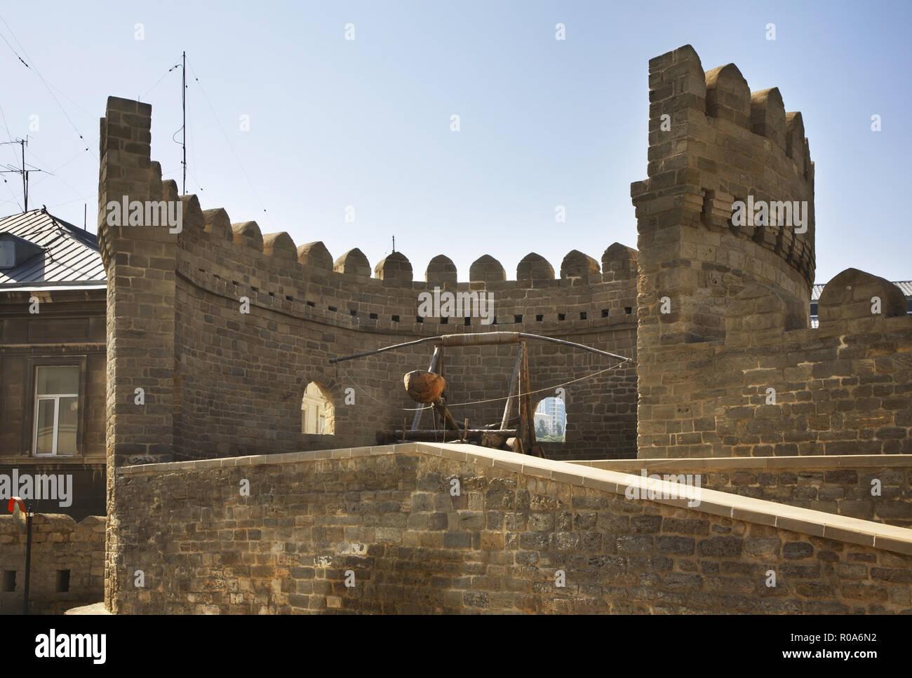 Icheri Sheher in Baku. Azerbaijan - Stock Image