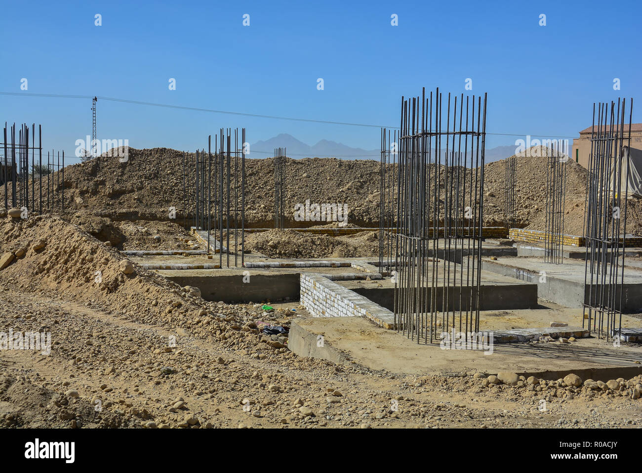 Building under Construction - Stock Image