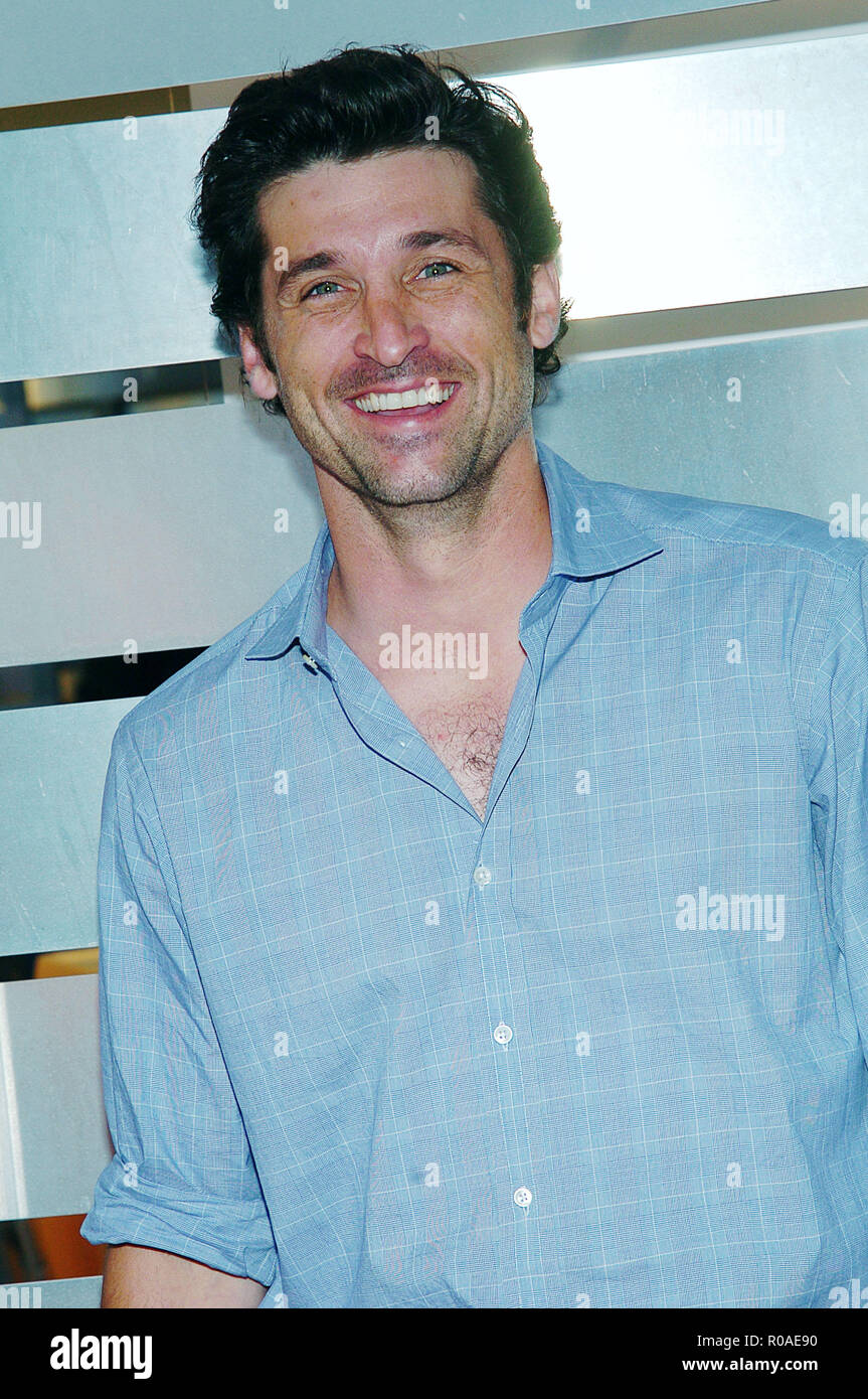 Patrick Dempsey Greys Anatomy Arriving At The Abc All Star Party