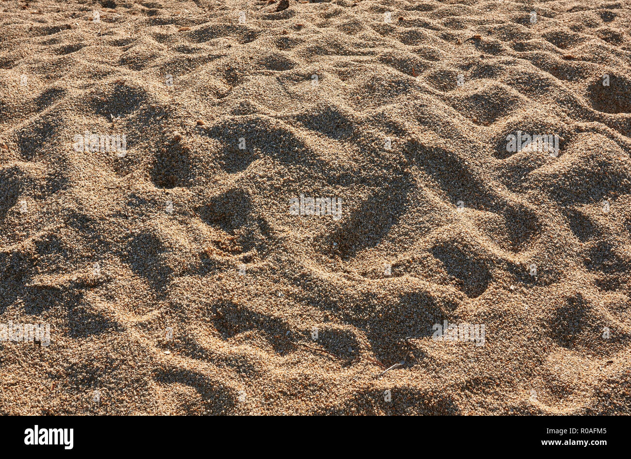 High Definition Texture Of The Sand Of The Beach With Big Grains Typical Of Southern Sardinia In Italy Stock Photo Alamy