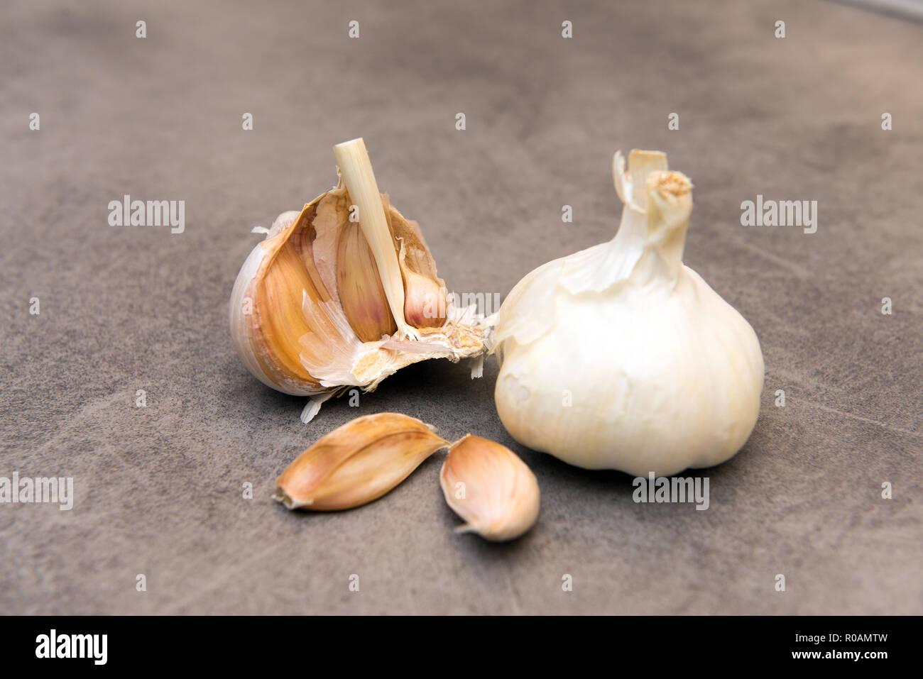 Garlic - a natural antibiotic Stock Photo: 223970681 - Alamy
