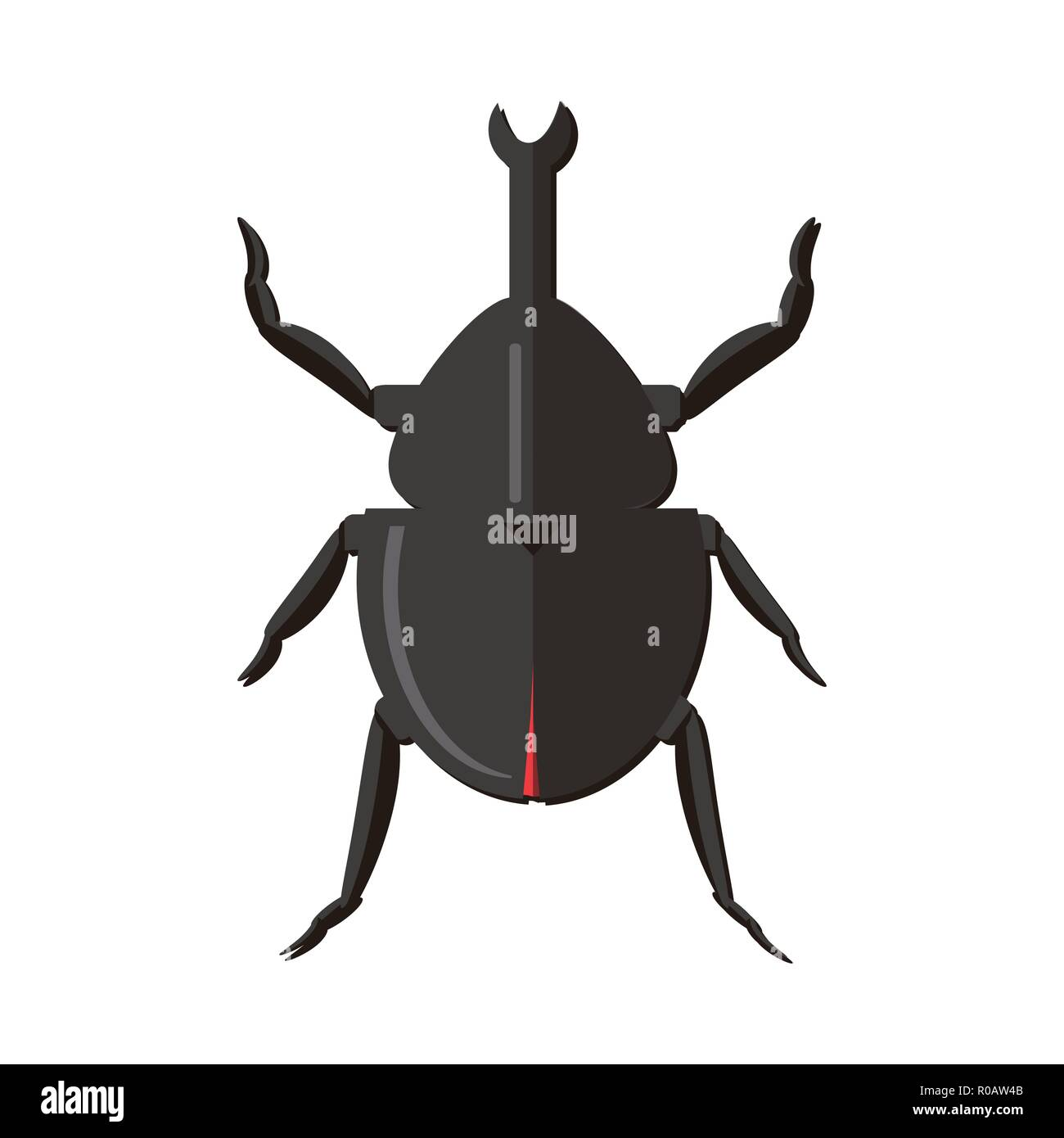 Nursery nature insect vector beetles - Stock Vector