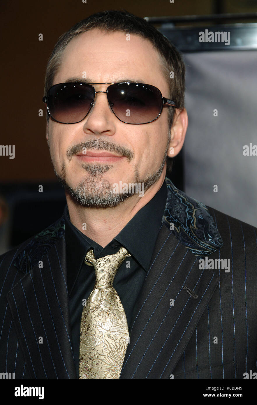 Robert Downey Jr The Iron Man Premiere At The Chinese Theatre In Los Angeles Headshot Eye Contactdowneyjrrobert 28 Red Carpet Event Vertical Usa Film Industry Celebrities Photography Bestof Arts Culture And