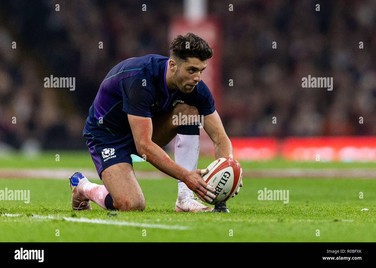 Scotlands Adam Hastings Lines Up A Penalty During The Autumn Commercial Wiring Books International Match At Principality Stadium Cardiff Press Association Photo