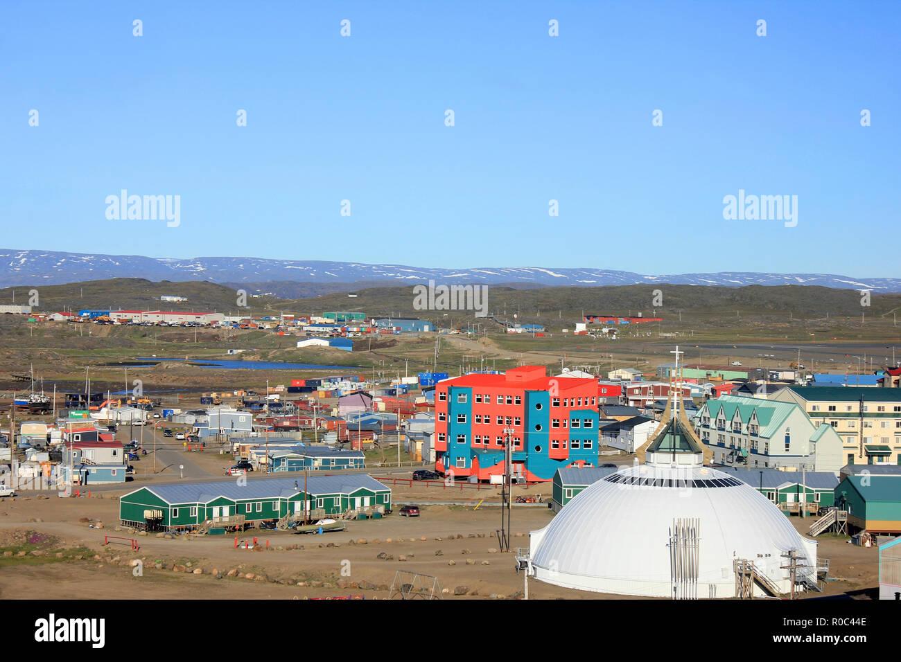 Iqaluit, Baffin Island, Nunavut, Canada - Stock Image
