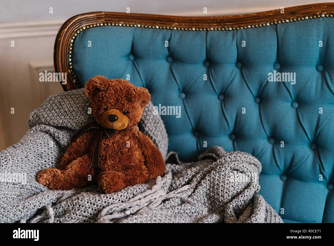 Cool Brown Teddy Bear On Luxury Sofa Coziness And Domestic Cjindustries Chair Design For Home Cjindustriesco