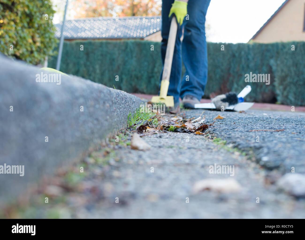 Concrete Road Gutter Stock Photos Amp Concrete Road Gutter